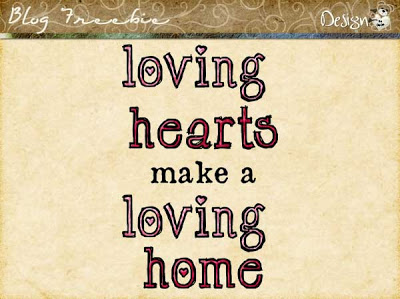 Wednesday SayingZ | Loving Hearts make a Loving Home