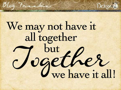 Wednesday SayingZ | Together We Have it All
