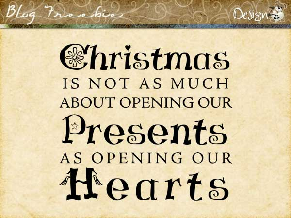 Wednesday SayingZ | Christmas Hearts
