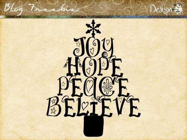 Wednesday SayingZ | Joy Hope Peace Believe