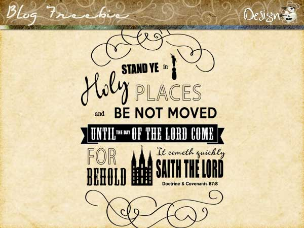 Wednesday SayingZ | Be Not Moved