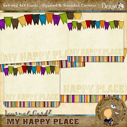 Journal CardZ - My Happy Place by DesignZ by DeDe