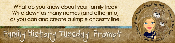 Family History TuesdayZ | Family Tree
