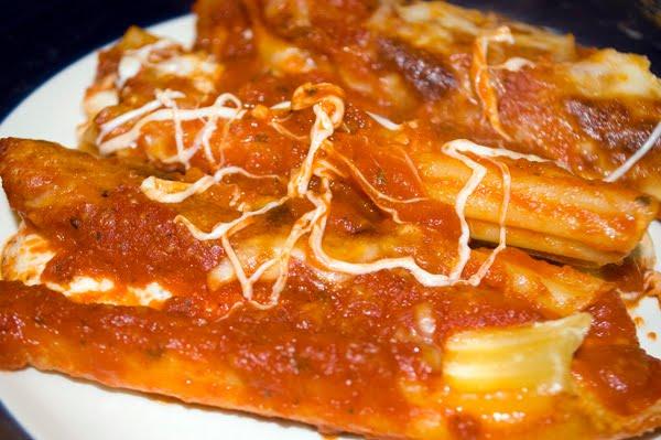 Recipe Thursday | Manicotti