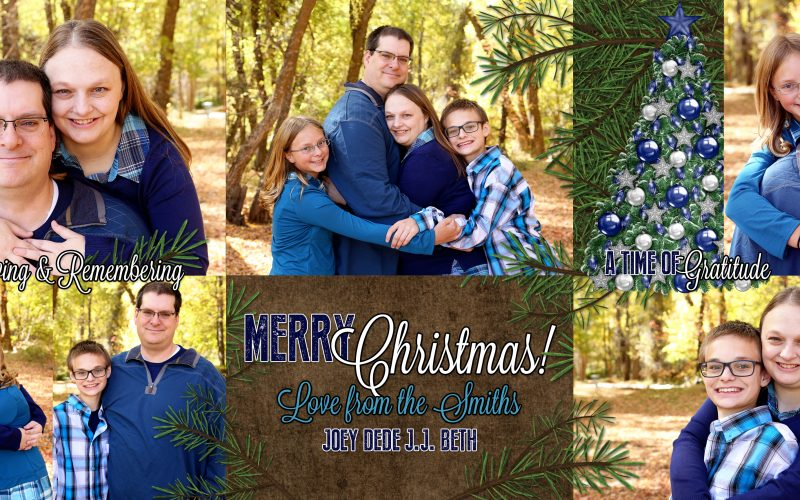 Merry Christmas 2016 from the Smith Family