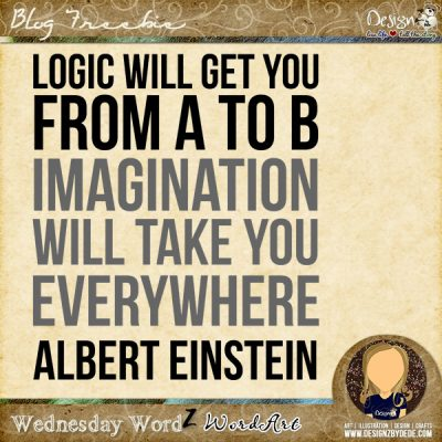 Wednesday WordZ | Logic vs Imagination
