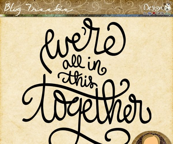 Wednesday WordZ | In This Together