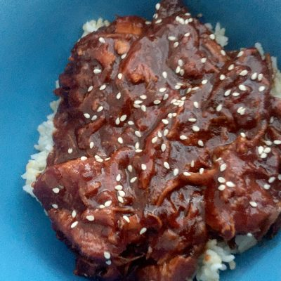 Recipe ThursdayZ   Crockpot Sesame Chicken