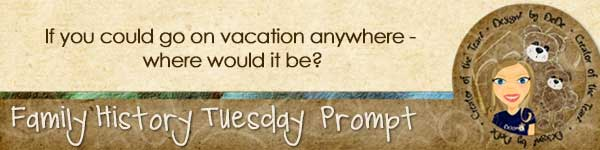 Journal Prompt: If you could go on vacation anywhere, where would it be?