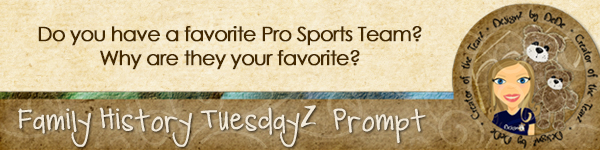 Journal Prompt: Do you have a favorite Pro Sports Team? Why are they your favorite?