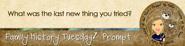 Journal Prompt: What was the last new thing you tried?