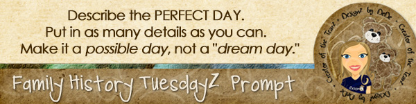 Journal Prompt: Describe the Perfect Day