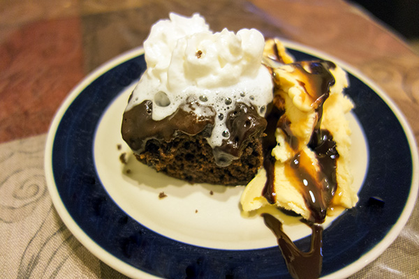 Chocolate Steamed Pudding by DeDe Smith