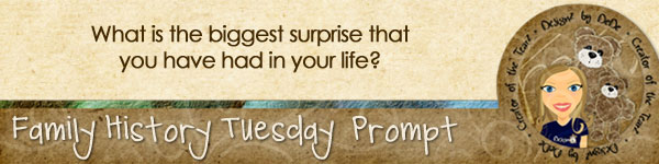 Journal Prompt: What is the biggest surprise that you have had in your life?