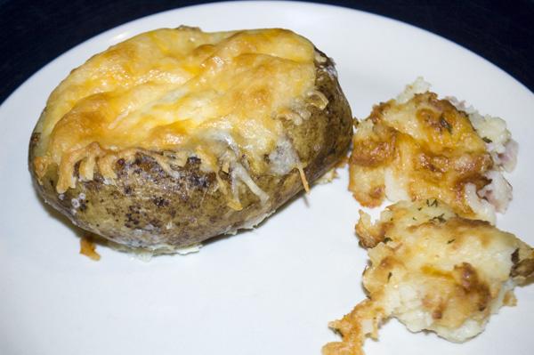 Egg-Stuffed Potatoes & Potato Puffs by DeDe Smith