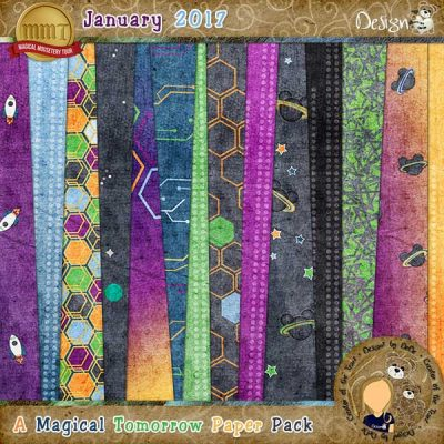 A Magical Tomorrow Paper Pack by DeDe Smith